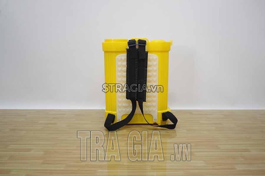 thiết kế tấm đệm lưng với 2 dây đeo mềm mại giúp người sử dụng làm việc không bị mỏi