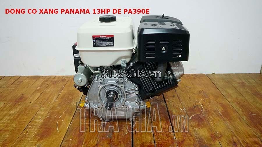 Động cơ nổ PANAMA 13HP PA390E với thiết kế gọn gàng, tương đối nhẹ, có thể di chuyển máy dễ dàng
