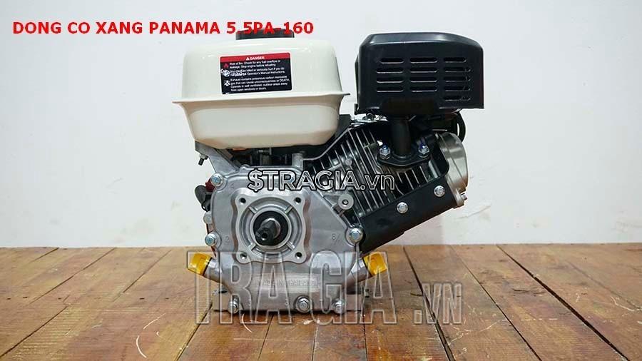 Động cơ nổ PANAMA 5.5HP PA160 với thiết kế gọn gàng, tương đối nhẹ, có thể di chuyển máy dễ dàng
