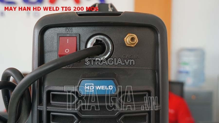 Công tắc khởi động của máy hàn que HD TIG 200MOS
