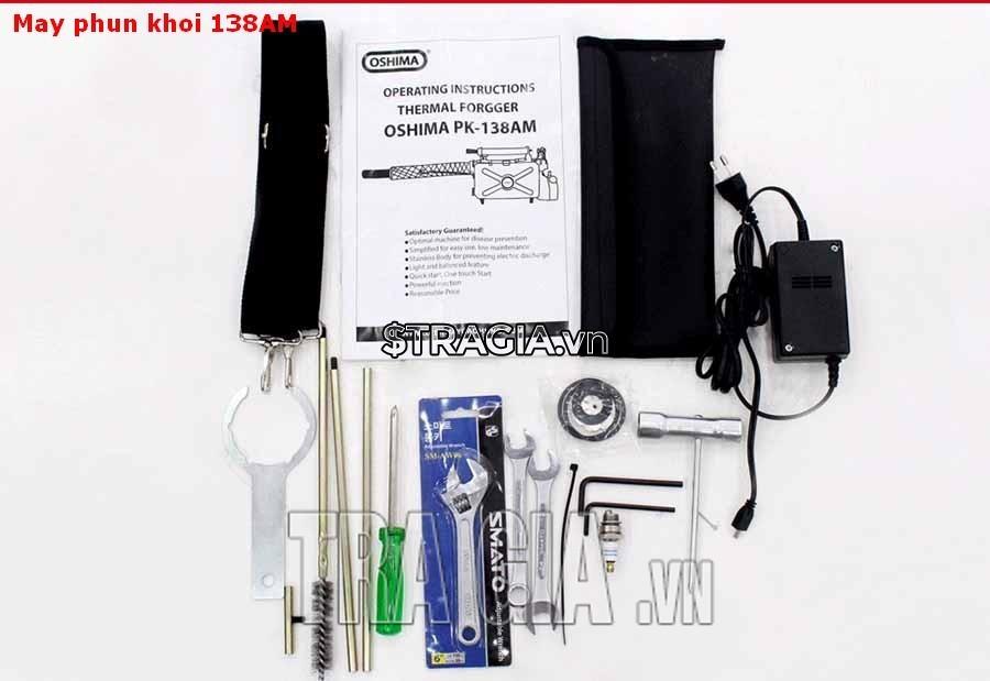 Phụ kiện đi kèm máy phun thuốc mini PK-138AM