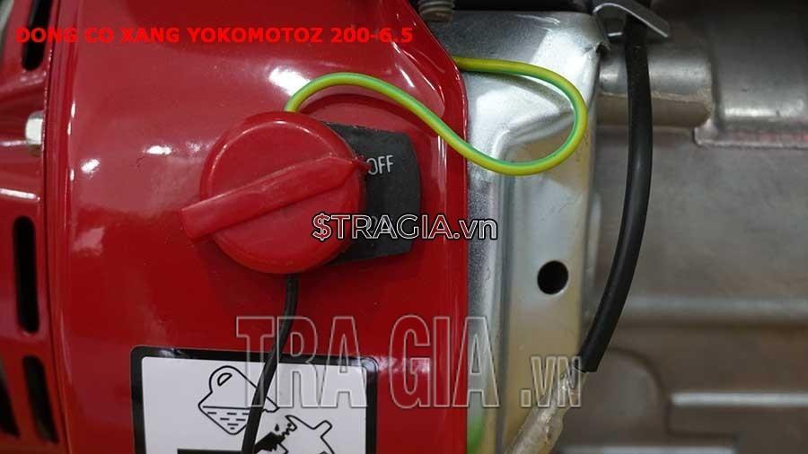 Công tắc khởi động của YOKOMOTOZ 200 6.5HP