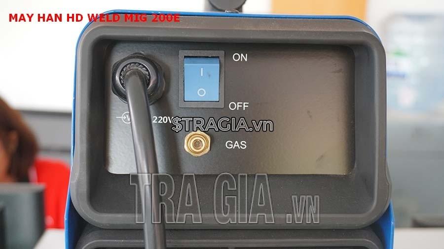 Công tắc khởi động của máy hàn HD MIG 200E