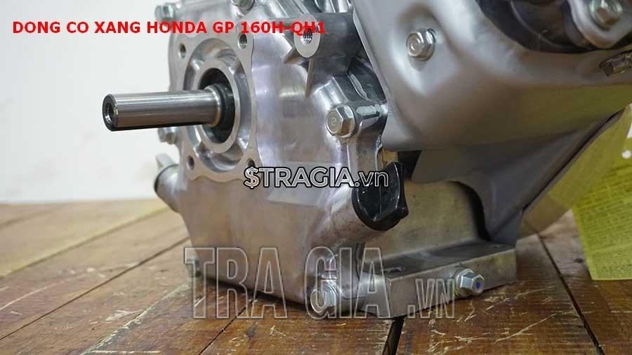 Chân của máy nổ Honda GP 160H QH1 dày giúp máy không bị rung lắc khi hoạt động