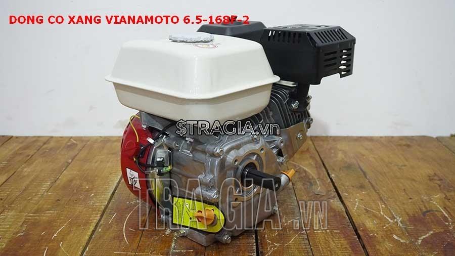 Đông cơ nổ VINAMOTO 6.5HP 168F với thiết kế gọn gàng, tương đối nhẹ ,có thể di chuyển máy dễ dàng