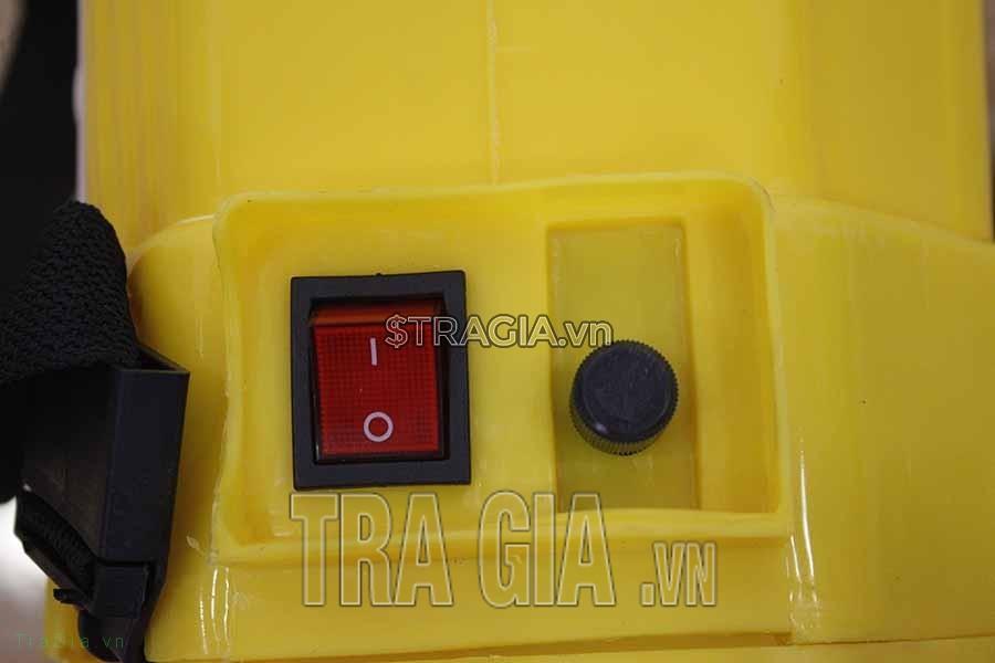 Bình phun thuốc bằng điện cali 16d dễ sử dụng