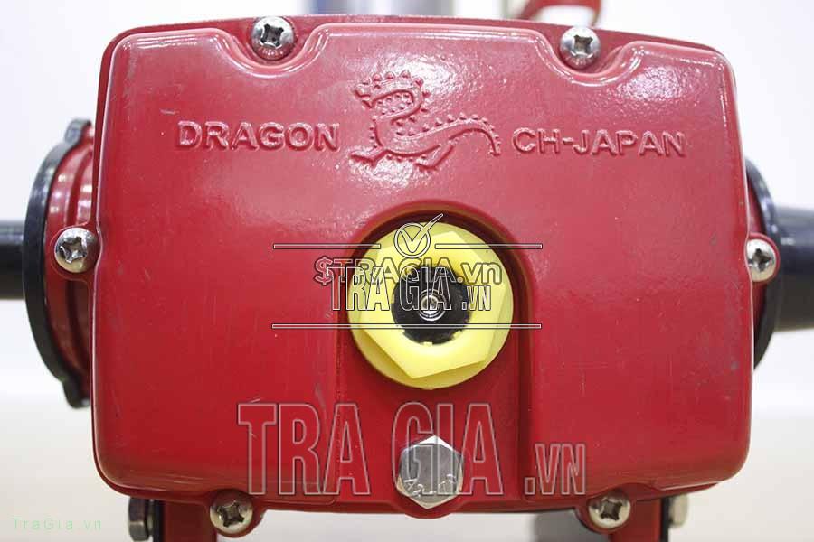Thân máy có chữ DRAGON nổi bật