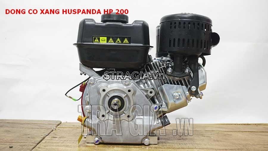 Máy nổ Huspanda HP200 là sản phẩm được tin dùng trong chạy ghe xuồng, động cơ cho máy tuốt lúa,...