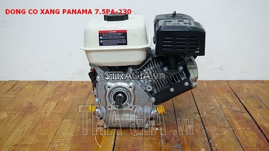 Động cơ nổ PANAMA 7.5HP PA230 với thiết kế gọn gàng, tương đối nhẹ, có thể di chuyển máy dễ dàng