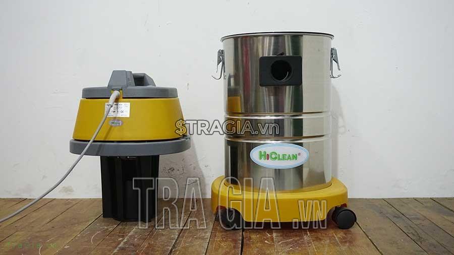 Nắp máy và thùng máy hút bụi HC-30