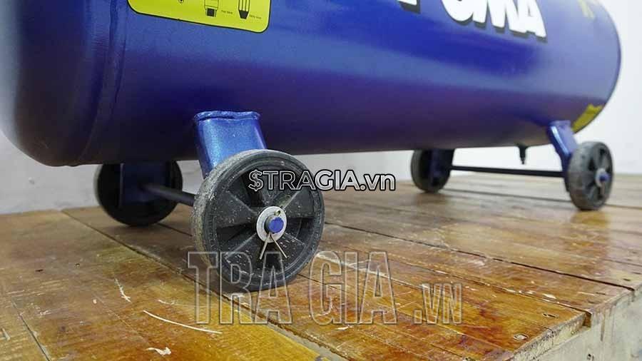 Máy nén khí PUMA trang bị hệ thống bánh xe di chuyển dễ dàng