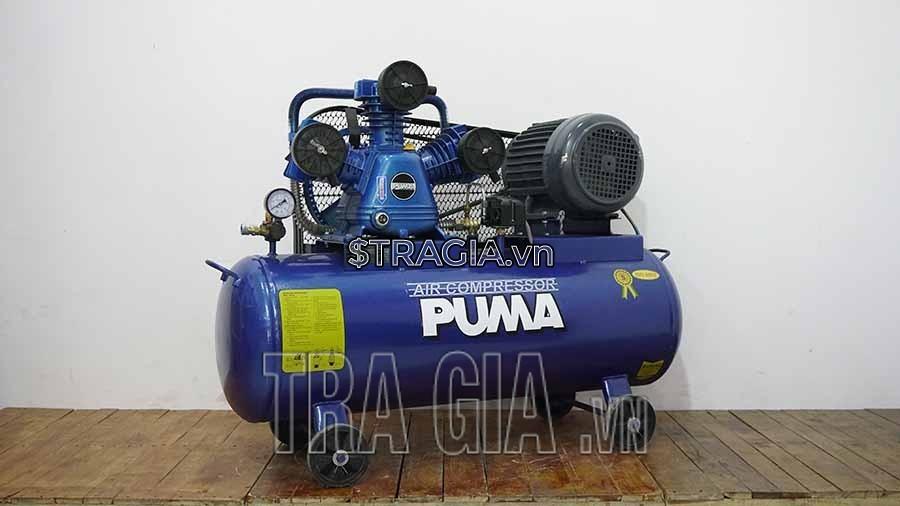 Dung tích bình chứa của máy nén khí PUMA 3HP 100L là 100l