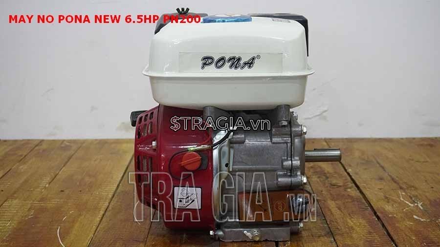 Động cơ xăng PONA PN200 6.5HP là sản phẩm được tin dùng trong chạy ghe xuồng, động cơ cho máy tuốt lúa,...