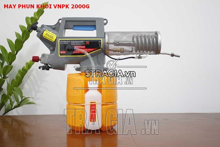 Máy phun khói VNPK-2000G được thiết kế nhỏ gọn, linh hoạt dễ vận hành