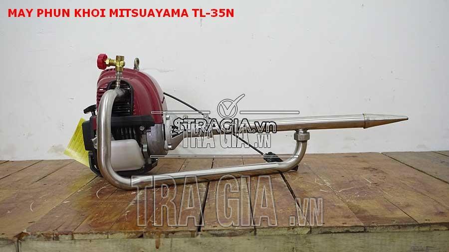Mitsuyama TL-35N có thể kiểm soát được lượng hóa chất ra đảm bảo an toàn cho người dùng cũng như môi trường xung quanh