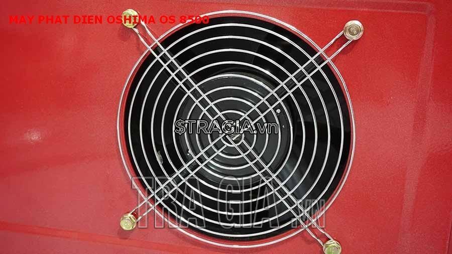 Ống gió máy phát điện chạy dầu OS 8500