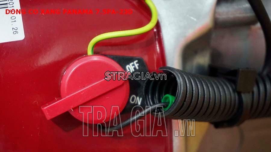Công tắc khởi động của máy nổ PANAMA 7.5HP PA230