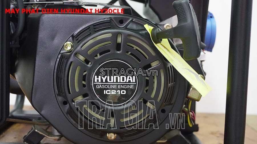 Máy phát điện chạy xăng HY30CLE chính hãng