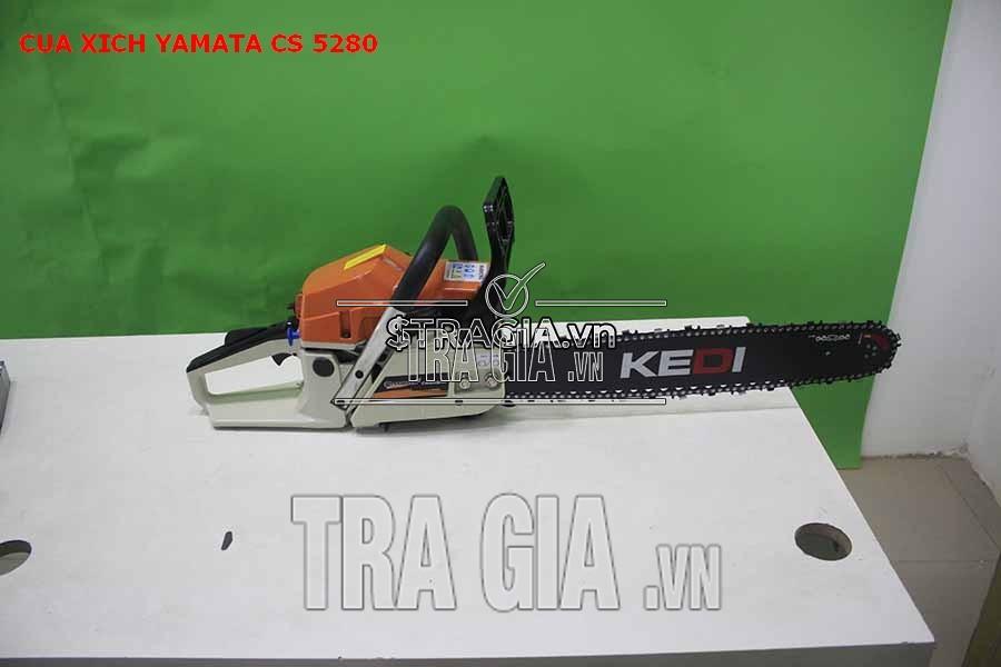Cưa xăng yamata cs 5280 thiết kế gọn nhẹ