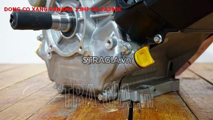 Chân máy nổ PANAMA 13HP PA390E (đề) dày giúp máy không bị rung lắc khi hoạt động