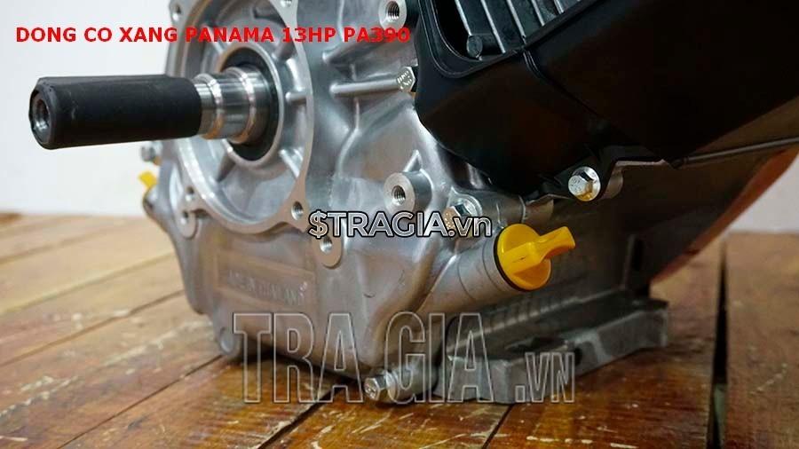 Chân máy nổ PANAMA 13HP PA390 dày giúp máy không bị rung lắc khi hoạt động