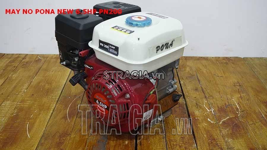 Động cơ nổ PONA PN200 6.5HP với thiết kế tiện lợi cùng trong lượng nhẹ chỉ 14.5kg, giúp dễ dàng di chuyển