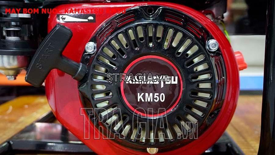 Tay giựt khởi động của máy bơm Kamastsu KM50
