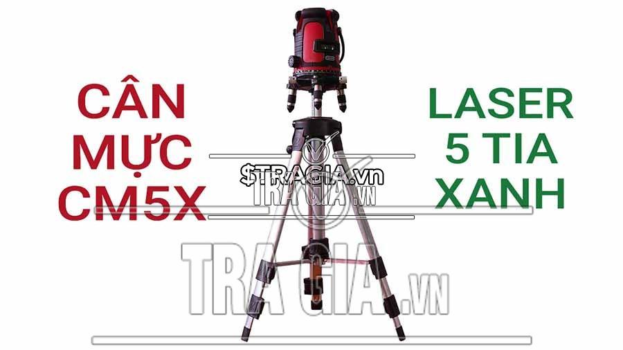 Tổng thể máy cân mực laser CM5X