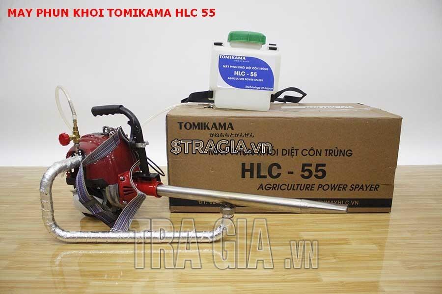 Trọn bộ sản phẩm máy phun khói Tomikama HLC-55