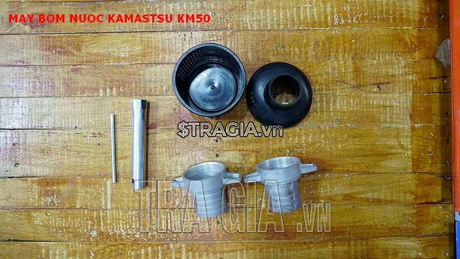 Phụ kiện đi kèm của máy bơm Kamastsu KM50
