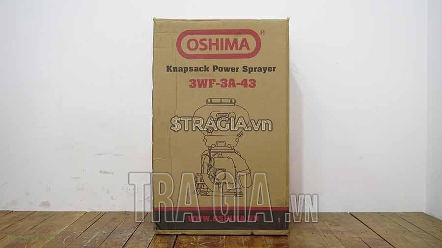 Thùng đựng bình xạ phân Oshima 3WF 3A-43