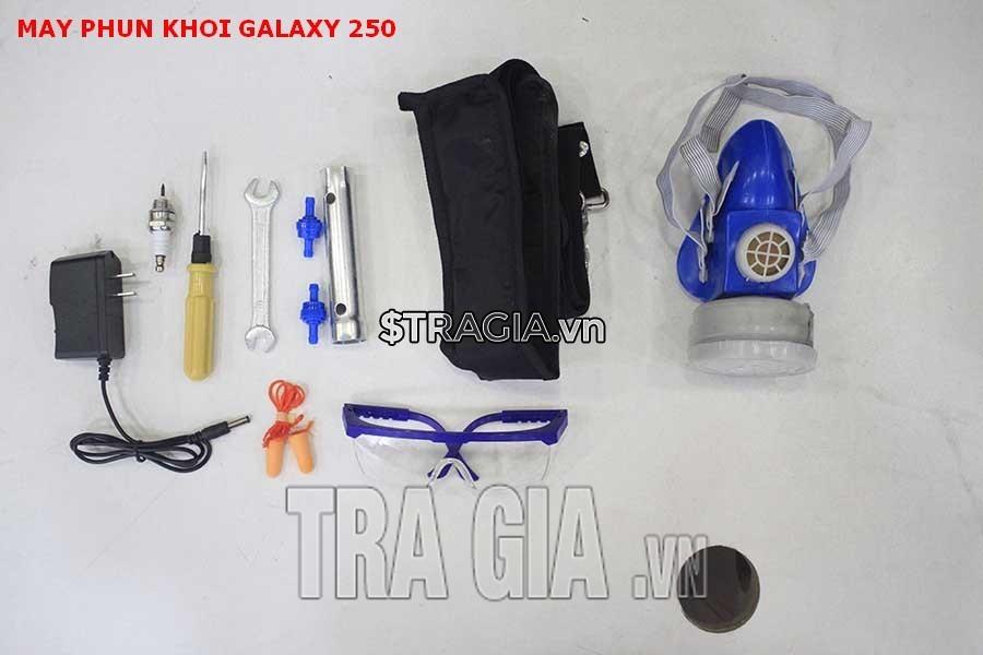 Phụ kiện đi kèm theo máy phun khói Galaxy 250