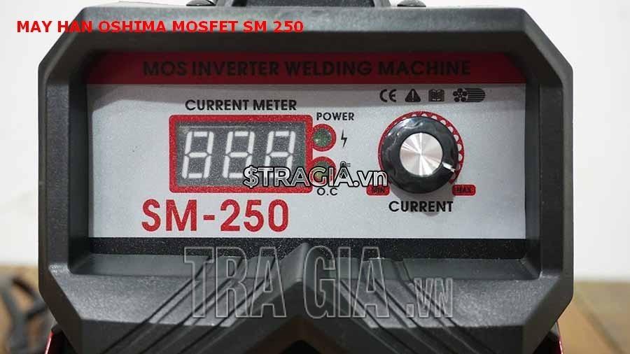 Bảng điều khiển của máy hàn điện tử Oshima MOSFET