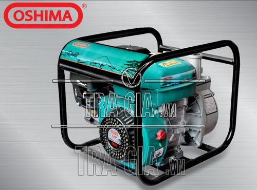 Máy bơm nước Oshima CX 30 vận hành êm ái, dễ sử dụng
