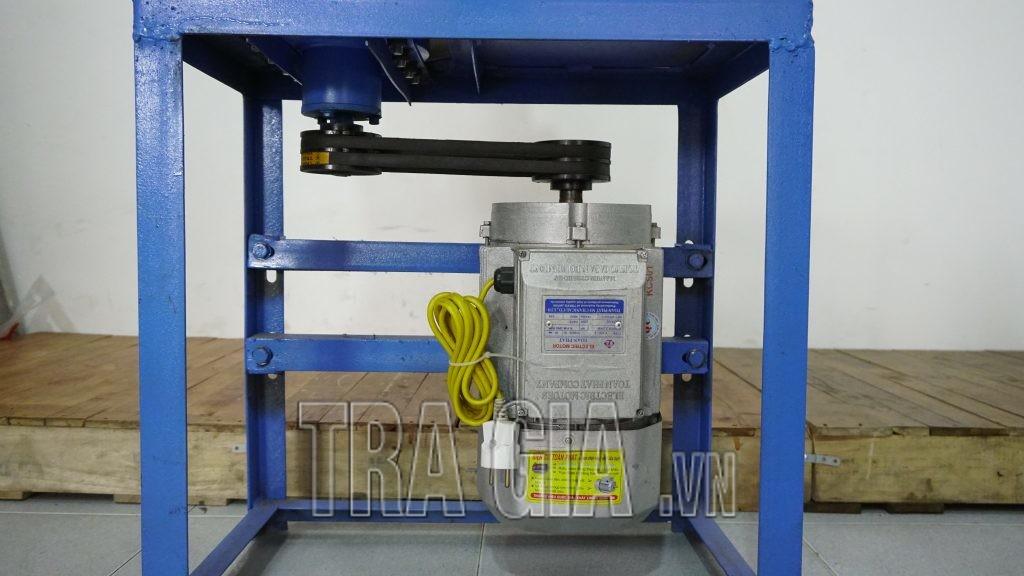 Máy sử dụng động cơ 3Kw cho năng suất 50-60kg/h