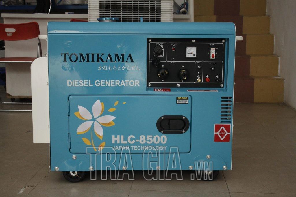 Máy phát điện chạy dầu Tomikama 8500 chính hãng