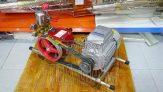 Bộ rửa xe Dragon HS-28 động cơ 1.1kW chân tròn